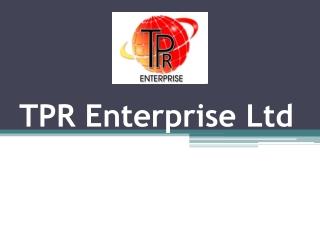 TPR Enterprise Ltd Colchester
