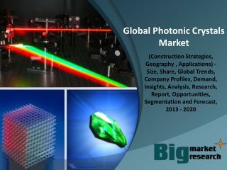 Photonic Crystals Market