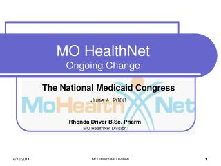 MO HealthNet Ongoing Change