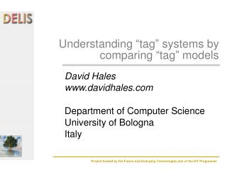 Understanding  tag  systems by comparing  tag  models