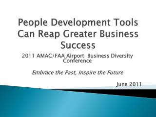 People Development Tools Can Reap Greater Business Success