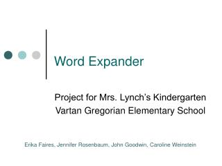 Word Expander