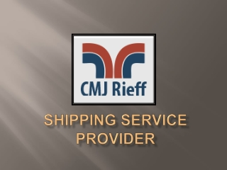 Shipping service provider