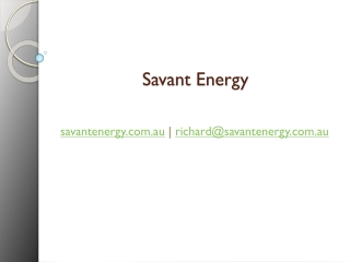 Savant Energy Consultants Australia