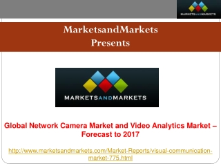 Network Camera Market - Global Forecast, Trend