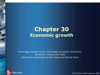 Chapter 30 Economic growth