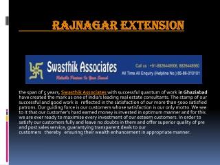 raj nagar extension projects