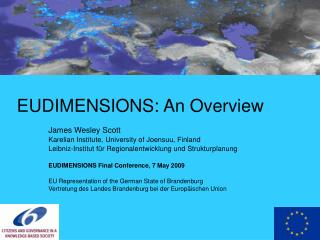 EUDIMENSIONS: An Overview