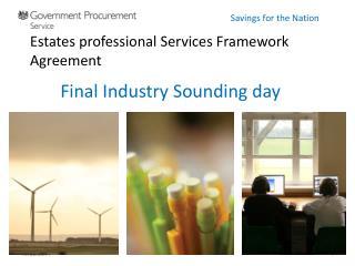 Estates professional Services Framework Agreement