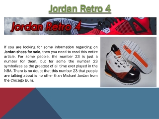 Jordan Shoes For Sale