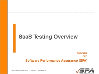 by Software Performance Assurance on Aug 28, 2010