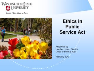 Ethics in Public Service Act