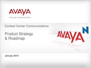 Contact Center Communications  Product Strategy   Roadmap