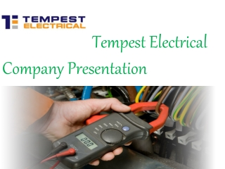 Hire Best Electrical Services Brisbane