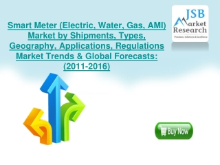 Smart Meter (Electric, Water, Gas, AMI) Market by Shipments,