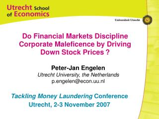 Do Financial Markets Discipline Corporate Maleficence by Driving Down Stock Prices ?