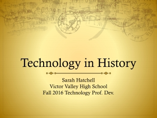 Technology in History