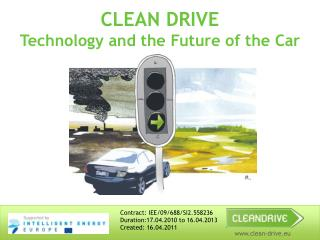 CLEAN DRIVE Technology and the Future of the Car