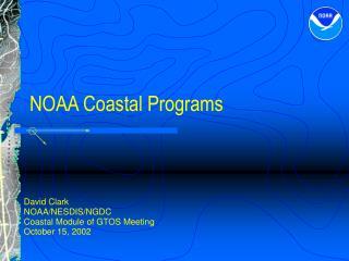 NOAA Coastal Programs