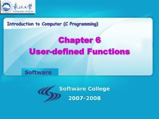 Introduction to Computer (C Programming)