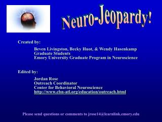 Neuro-Jeopardy!