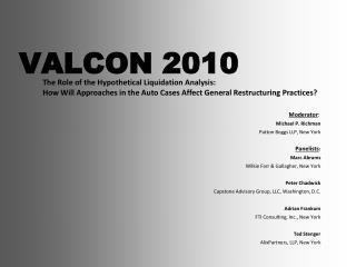 VALCON 2010