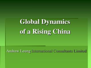 Andrew Leung  International Consultants Limited