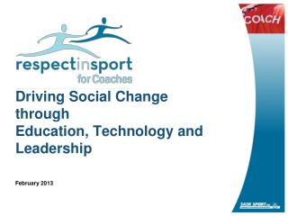 Driving Social Change through Education, Technology and Leadership