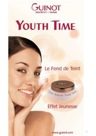 Ухаживающая тональная основа YOUTH TIME