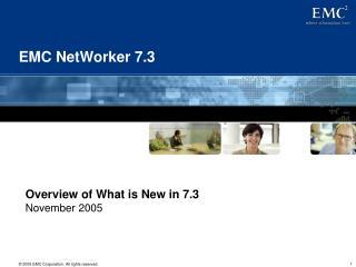 EMC NetWorker 7.3