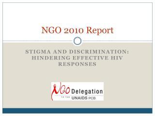 NGO 2010 Report
