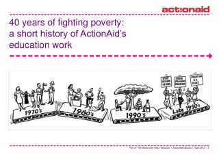 40 years of fighting poverty:  a short history of ActionAid's  education work