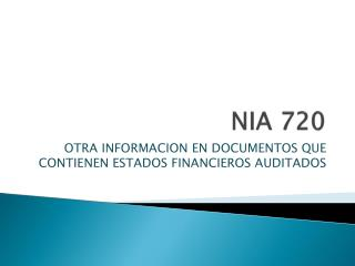 NIA 720