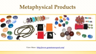 Metaphysical Products
