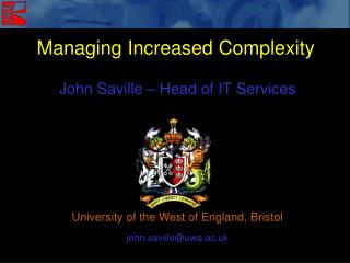 Managing Increased Complexity