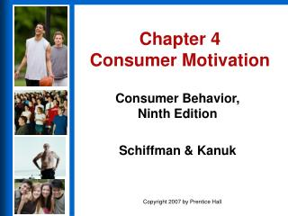 Chapter 4 Consumer Motivation