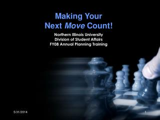 Making Your  Next  Move  Count!