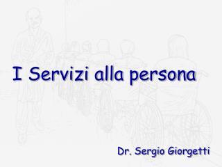 I Servizi alla persona