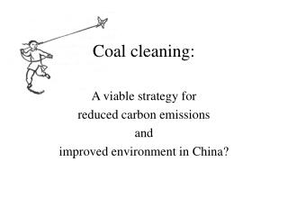Coal cleaning: