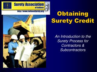 Obtaining Surety Credit