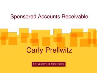 Sponsored Accounts Receivable Carly Prellwitz