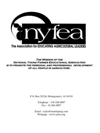 NYFEA Leadership Handbook