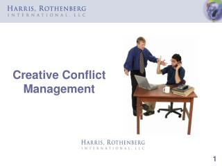 Creative Conflict Management