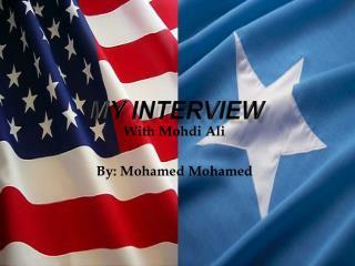 M y Interview
