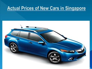 Learn more about Buying Used Car in Singapore