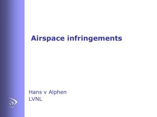Airspace infringements