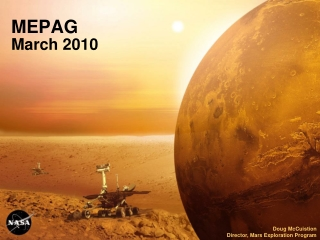 MEPAG March 2010