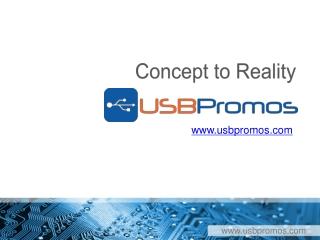 Custom USB Drives - Concept to Reality Promo