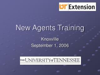 New Agents Training