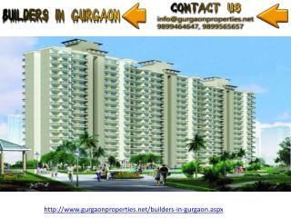 Builders in Gurgaon